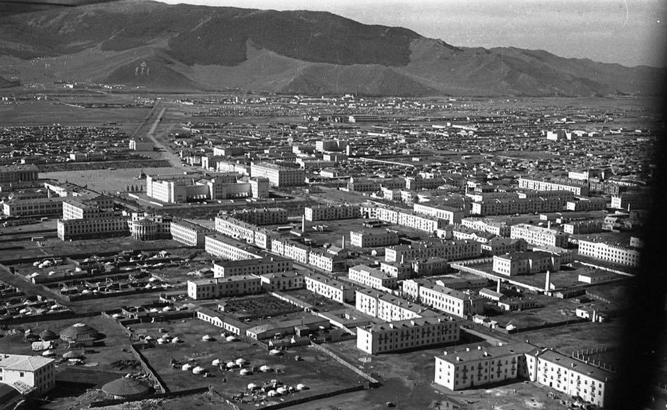 Image 6. Ulaanbaatar city in 1950s