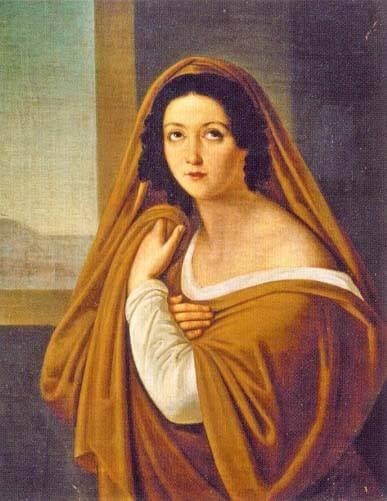 Alexey Yegorov, Avdotya Golitsyna as a vestal virgin