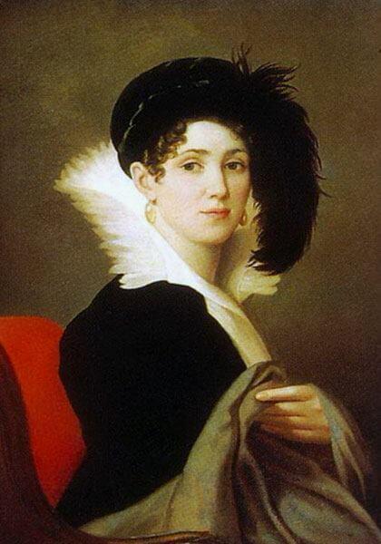Alexey Yegorov, Portrait of Maria Byalskaya